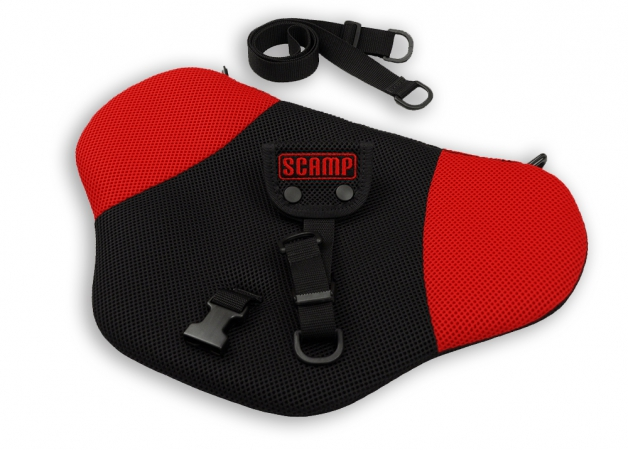 Bezpečnostný tehotenský pás Scamp - red