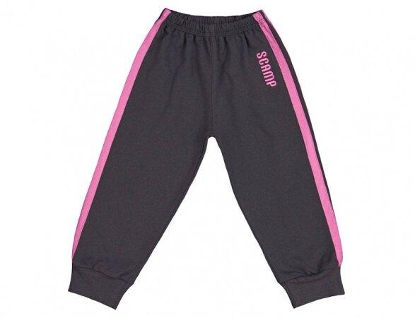 Teplákové nohavice na gumu s prúžkom Scamp NIG 232*